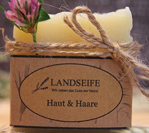 Landseife Blumige Duschseife - Handgefertigte Bio Naturseife für Haut und Haar
