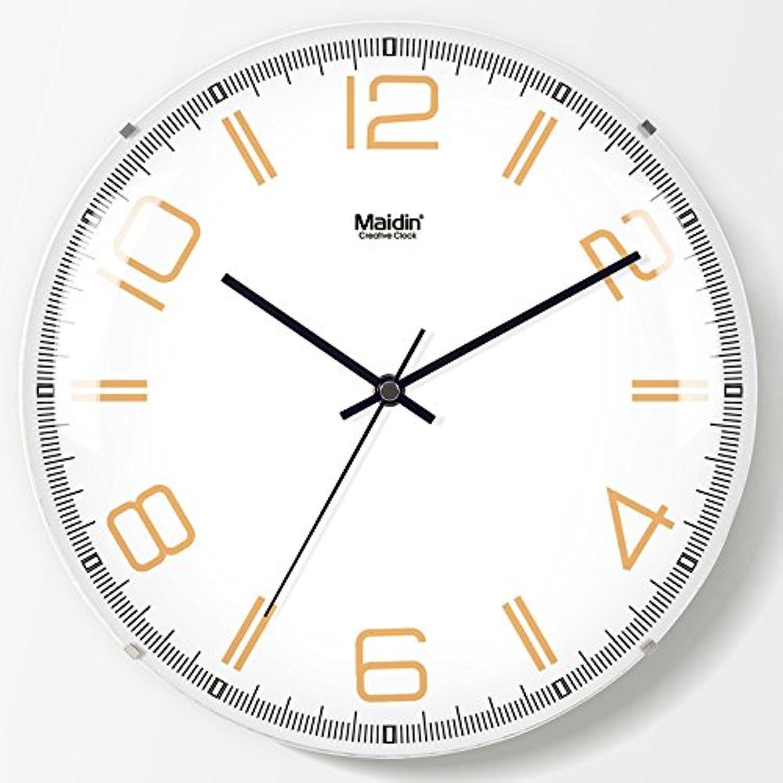 promociones Salón Dormitorio reloj de parojo relojes silenciar ideas simples sin sin sin bordes alrojoedor del reloj reloj de cuarzo H050,13 en el Infinito -050 reloj  alta calidad