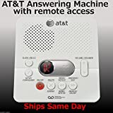 Best Answer Machines - AT&T ATT1740 Digital Answering Machine System 60 Minutes Review