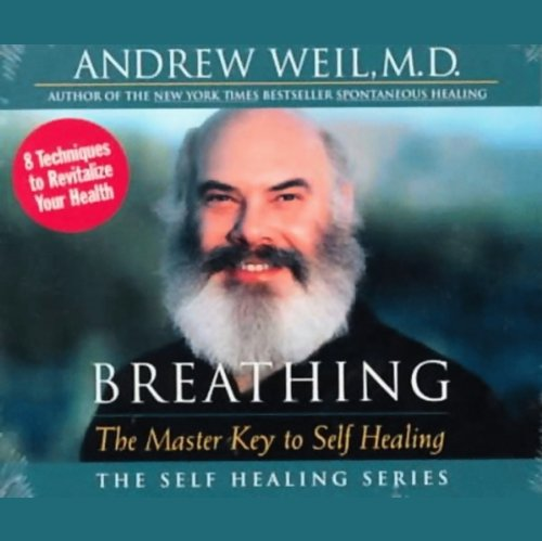 Breathing     The Master Key to Self Healing              By:                                                                                                                                 Andrew Weil MD                               Narrated by:                                                                                                                                 Andrew Weil MD                      Length: 1 hr and 46 mins     438 ratings     Overall 4.4