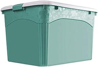Lpiotyucwh Paniers et Boîtes De Rangement, 3 pièces avec patinage rouleau Boîte de rangement de vêtements ménagers jouet b...