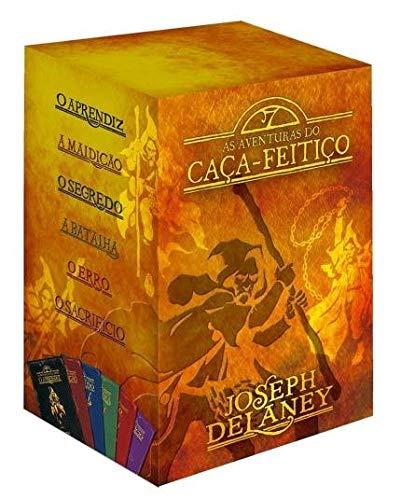 as aventuras do caça-feitiço 6 volumes