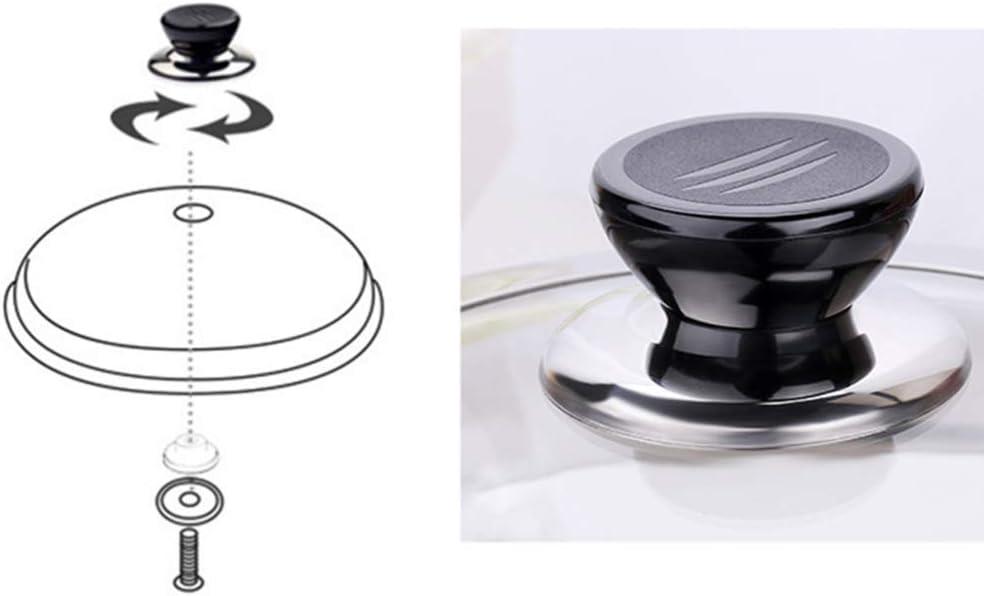 PIXNOR In Acciaio Inox Pan Coperchio Universale Padelle Pentole Coperchio della Copertura Addensare Pentola di Cottura Coperchio di Ricambio Coperchio di Protezione per La Cucina di Casa