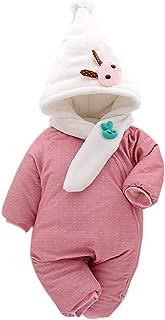 Fairy Baby Infant Unisex Cartoon Winter Romper Outwear Thick Fleece Jumpsuit Snowsuit