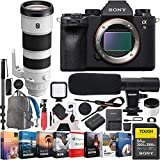 Sony a9 II Full Frame Mirrorless Camera Body FE 200-600mm F5.6-6.3 G OSS Telephoto Lens ILCE-9M2 + SEL200600G Bundle with Photo Video LED, Monopod, Software, Deco Gear Backpack & Accessories