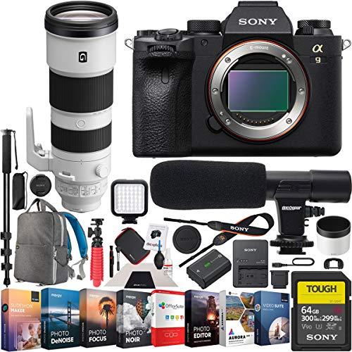 Sony a9 II Full Frame Mirrorless Camera Body FE...