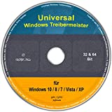 Universal Treiber-Meister für Windows 10 / 8 / 7 / Vista / XP (32/64 Bit)
