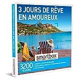SMARTBOX - Coffret Cadeau Couple - Idée cadeau original : Séjour de 3 jours romantique, escapade à deux dans les plus beaux endroits