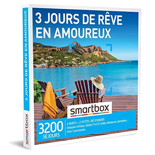 La Smartbox 3 jours de rêve en amoureux