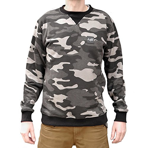 Aight Evolution Sweatshirt Camo Laight schwarz/Camouflage (Black/camo) Groesse M