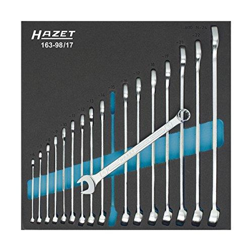 HAZET 163-98/17 Ring-MaulSchlüssel-Satz