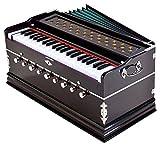 moddfash best harmonium 9 stopper, chudidaar soffietto, 42 chiave, due ance (bass-maschio), 3 1/2 octave, kapler, armonium con coperchio