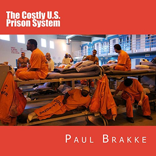 The Costly U.S. Prison System audiobook cover art