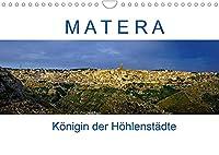 Matera - Koenigin der Hoehlenstaedte (Wandkalender 2022 DIN A4 quer): Fotografischer Spaziergang durch Europas Kulturhauptstadt 2019 (Monatskalender, 14 Seiten )