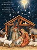 LANG 1004674 -'Holy Family', Boxed Christmas Cards, Artwork by Susan Winget' - 18 Cards, 19 envelopes - 5.375' x 6.875'