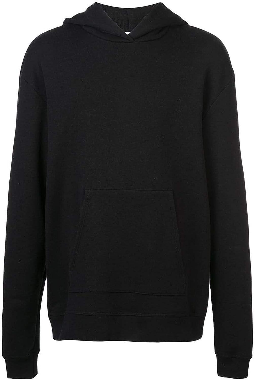 JOHN ELLIOT Men's B019B0010ABLACK Black Cotton Sweatshirt