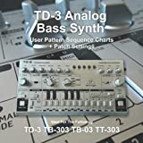 TD-3 Analog Bass Synth User Pattern Sequence Charts + Patch Settings.(Silver): Ideal for TD-3 Tb-303 TB-03 TT-303