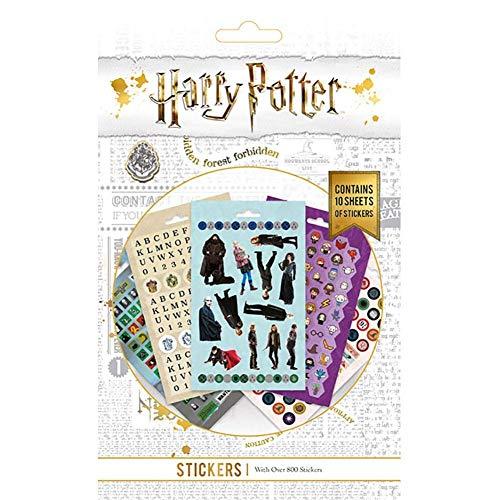 HARRY POTTER - Pack de 800 pegatinas (Talla Única) (Multicolor)