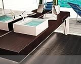 BagnoItalia Mobile Arredo Bagno Mensola per Lavabo Piano d'appoggio Varie Misure Legno in 50 Colori Mobili I