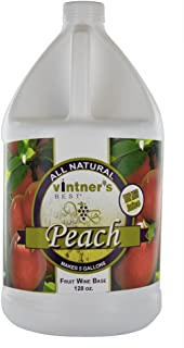 Home Brew Ohio Vintners Best Fruit Wine Base, Peach, 128 oz.
