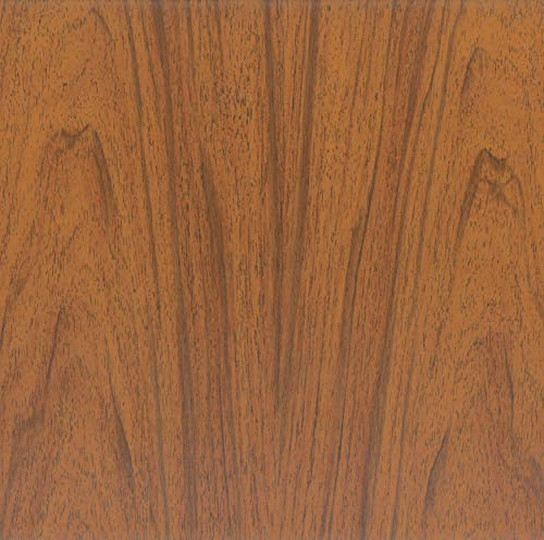 Venilia Klebefolie Nuss 45 cm x 200 cm Adhesiva Fix Nogal, Muebles, lámina autoadhesiva para Papel Pintado, Aspecto Natural de Madera, 45 cm x 2 m, Espesor: 0,15 mm, 53330, PVC