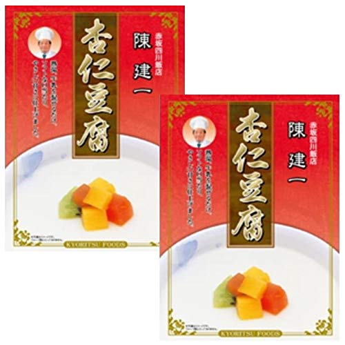 陳健一 杏仁豆腐 80g×2箱