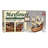 Jumbo Spiele D80819 Constructo Mayflower England 1620, 1:65 Holzbausatz -