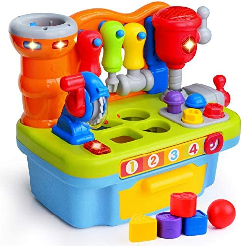 ORWINE Musical Learning Workbench Toddler Toys for Boys Girls Kid Baby Early Education Toys product image