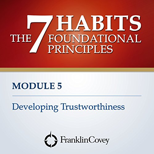 Couverture de Module 5 - Developing Trustworthiness