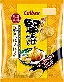 カルビー 堅あげポテト 香ばしにんにく味 60g ×12袋