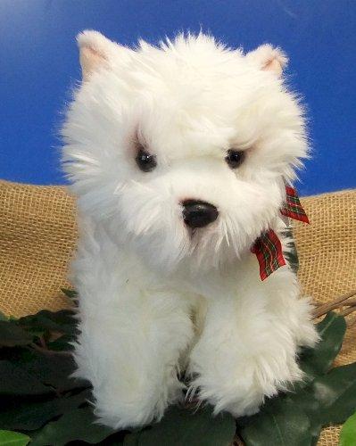 Uni-Toys Hund Westhihgland Terrier Westi sitzend weiß 27 cm