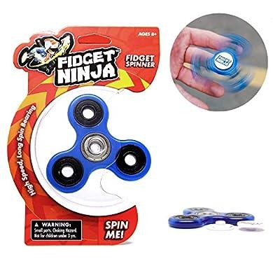 YoYo Factory Fidget Ninja Spinner - Azul de YOYO FACTORY