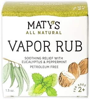Matys All Natural Vapor Rub, 1.5 Ounce by Matys