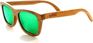 Originals Wooden Polarized Bamboo Wood Sunglasses 100% Floating Wayfarer Shades