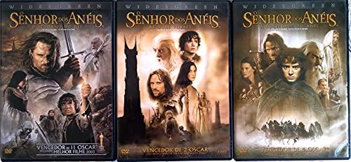 Trilogia Senhor dos Anéis DVD - (6 Discos)