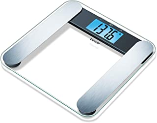 Beurer Body Fat Analyzer Scale Bmi, Multi-user & Recognition, Digital Weight Scale, Xl Lcd Illuminated Display, Bf220, Black