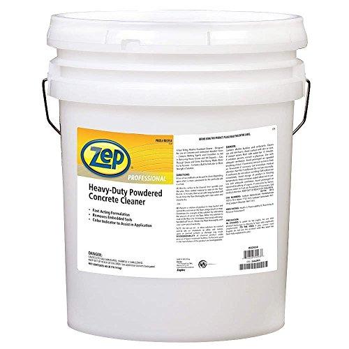 Powdered Concrete Floor Cleaner,Orange ZEP PROFESSIONAL 1041742