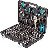 Maletín de herramientas Bort BTK-123. Juego de herramientas de 123 piezas para el...