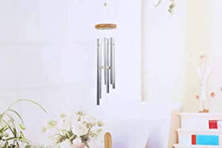 white wind chimes