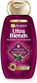 Garnier Ultra Blends Shampoo, Henna & Blackberry, 360ml