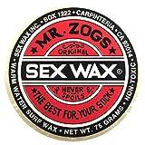 Mr. Zogs Original Sexwax - Warm Water Temperature Coconut Scented (White)
