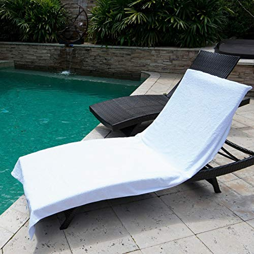 Winter Park Towel Co. Chaise Lounge Pool Chair Cover Towel (40