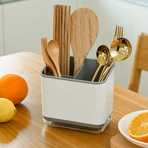 CIUJOY Organizador de cocina para el drenaje de la cocina, soporte para esponjas de cocina, adecuado para guardar esponjas, cepillos, palillos y otros utensilios de cocina.