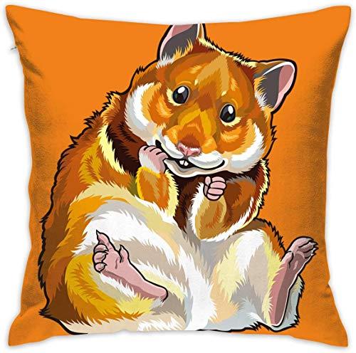 tiao9143 Funda de almohada con imagen de ratón para sofá o cama, funda de almohada para dormir, cojín suave de 45,7 x 45,7 cm