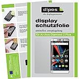 dipos I 6X Schutzfolie matt kompatibel mit Archos Diamond 2 Plus Folie Bildschirmschutzfolie