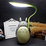 My Neighbor Totoro Night Light Studio Ghibli Lámpara de Mesa LED Totoro Night Lamp para niños Decoraciones de cabecera para niños Baby Girls Los Mejores (B)