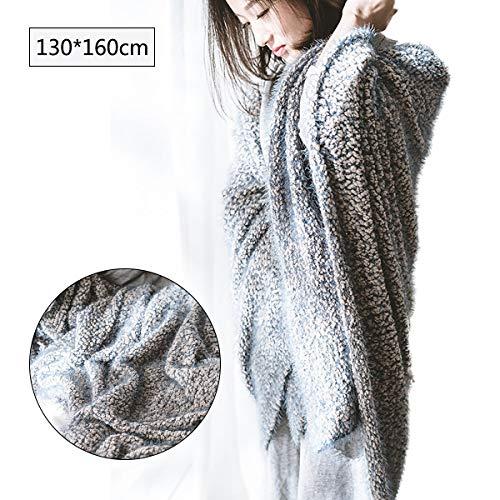 GYNFJK Herfst en winter sofa deken zacht en comfortabel polyester deken Warm Bed dekens duurzame sjaal casual deken