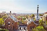 NA Puzzle Jigsaw Rompecabezas De 1000 Piezas Rompecabezas Spain Parks Gaudi Park Barcelona Rompecabezas De Juegos De Bricolaje 1000 Piezas