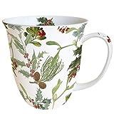 Ambiente - Tazza natalizia in porcellana fine, 0,4 litri, motivo: Winter Feeling