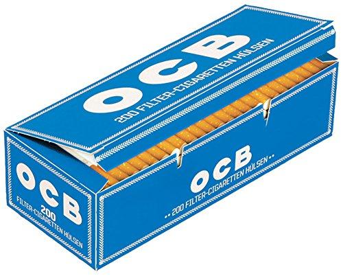 5.000 (25x200) OCB® (Hülsen, Filterhülsen, Zigarettenhülsen)